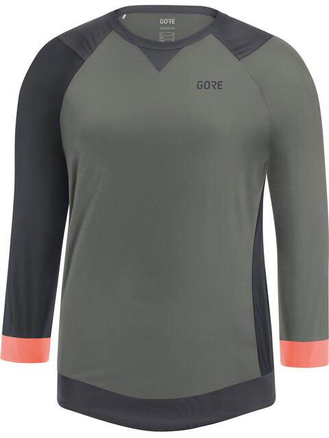 GORE WEAR C5 All Mountain 3/4 Jersey Women castor grey/terra grey